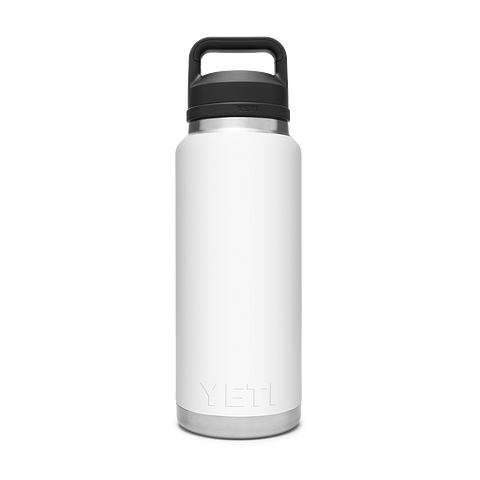 Yeti Rambler 36oz / 1L Bottle with Chug Cap - White