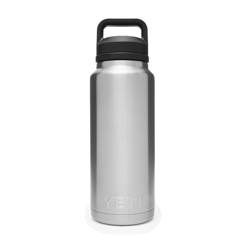 Yeti Rambler 36oz / 1L Bottle with Chug Cap - Stainless Steel