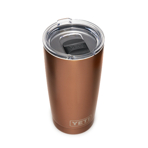Yeti Rambler 591ml/ 20oz Tumbler with Magslider Lid - Copper