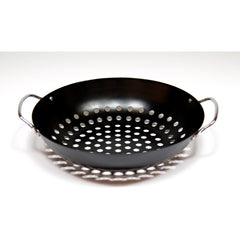 Big Green Egg Round Grill Wok Porcelain
