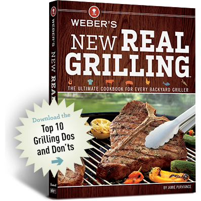 Weber New Real Grilling Cookbook