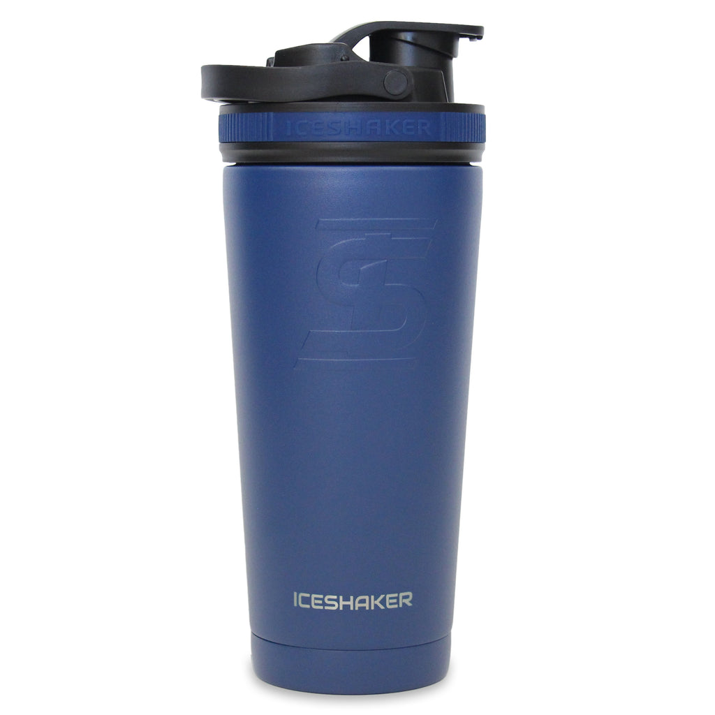 Ice Shaker 26oz Shaker Bottle - Navy