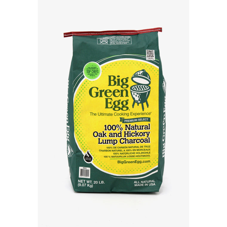 Big Green Egg Premium Organic Charcoal 20lbs