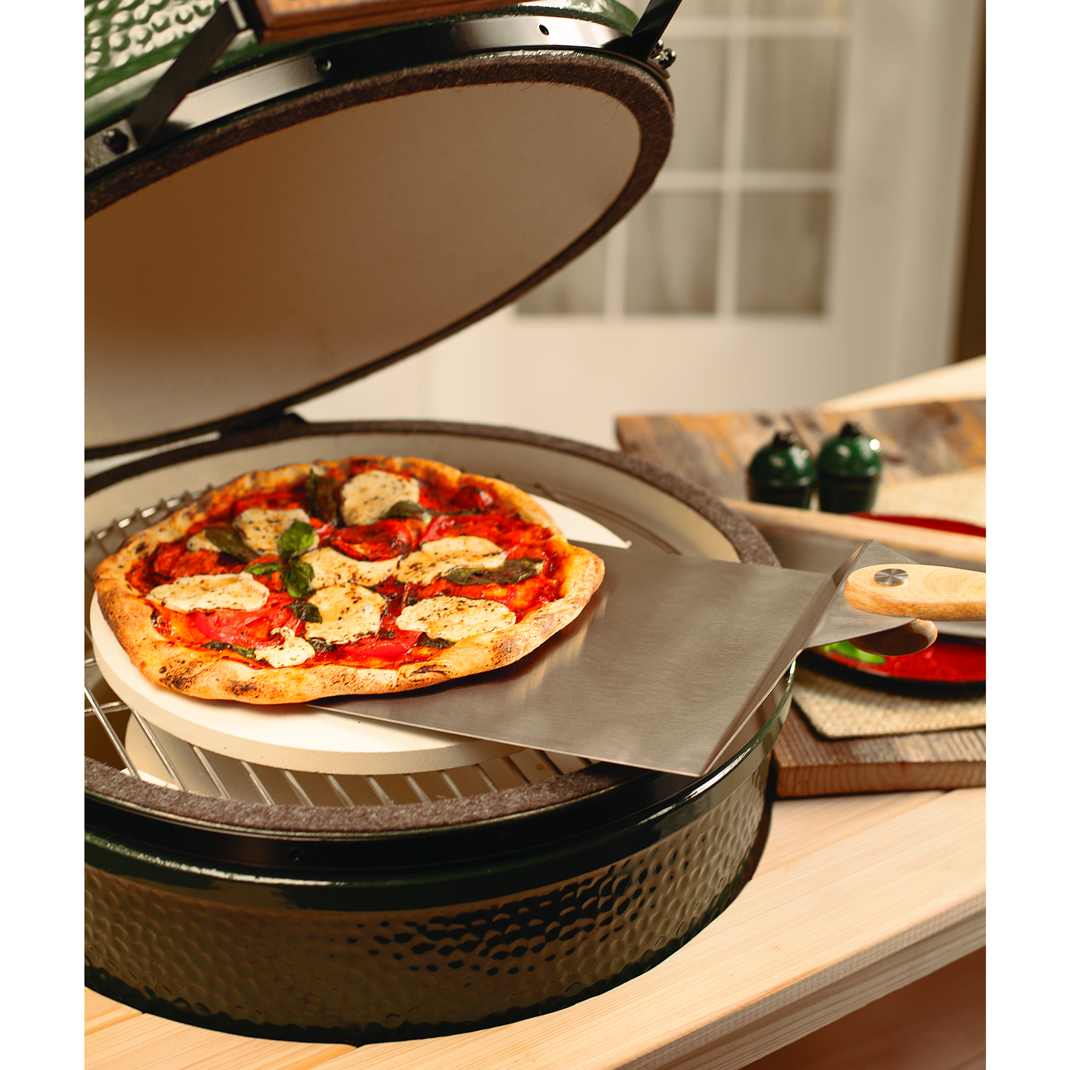 Big Green Egg Pizza & Baking Stone