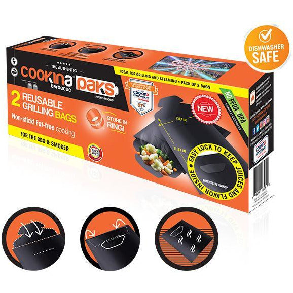 Cookina Barbeque Cooking Packs