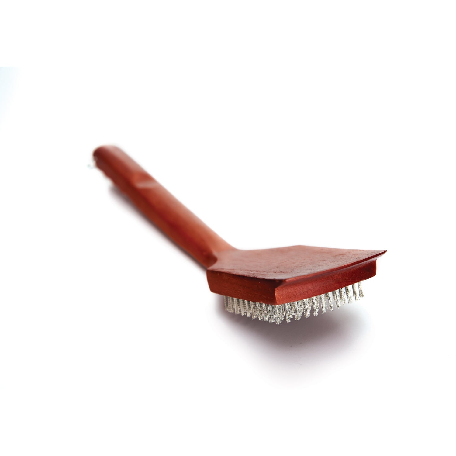 Grill Pro Heavy Duty Hardwood Handle Grill Brush