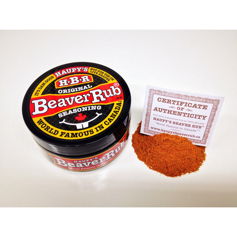 Haupys Beaver Rub Seasoning