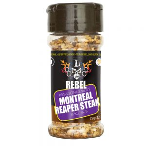 Aubrey D. Montreal Reaper Steak Rub