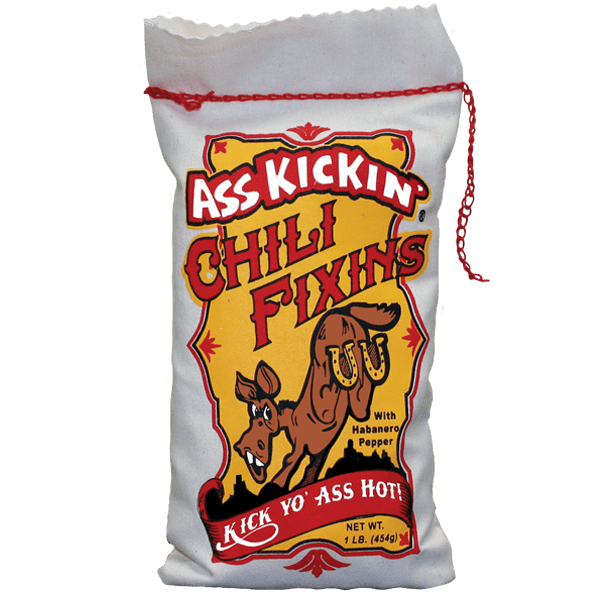 Ass Kickin' Chili Fixin's