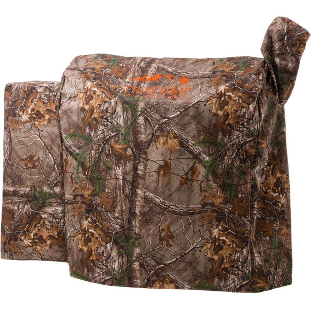 Traeger Realtree Camo Full Length Cover - 34 Series
