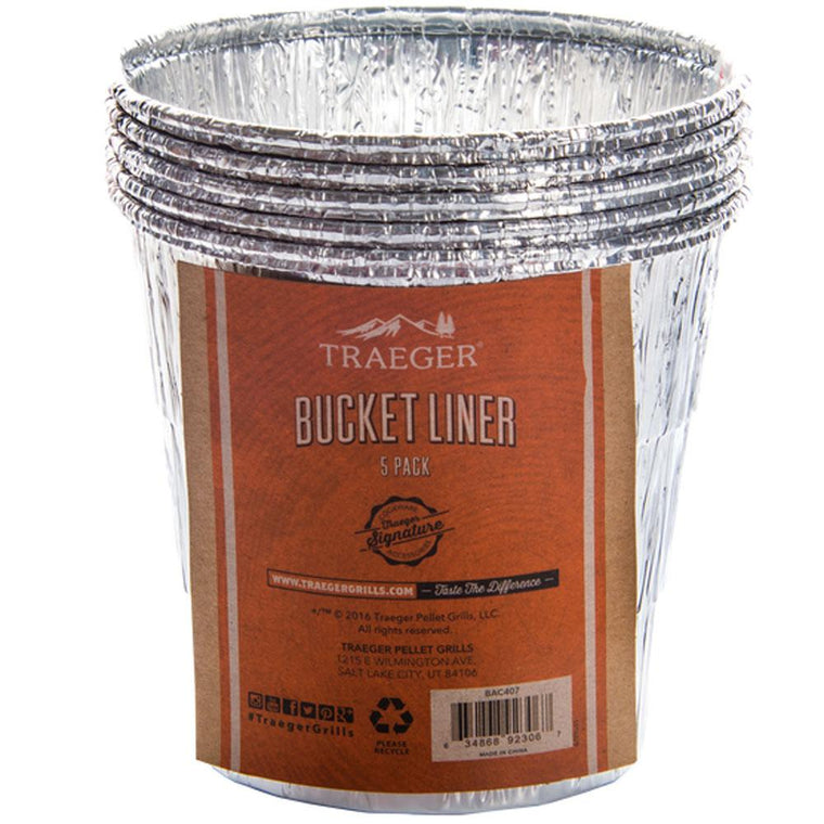 Traeger - Bucket Liner - 5 Pack