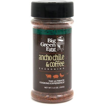 Big Green Egg Seasoning: Ancho Chili & Coffee