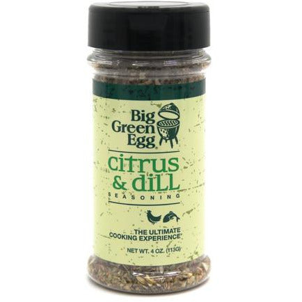 Big Green Egg Seasoning: Citrus & Dill