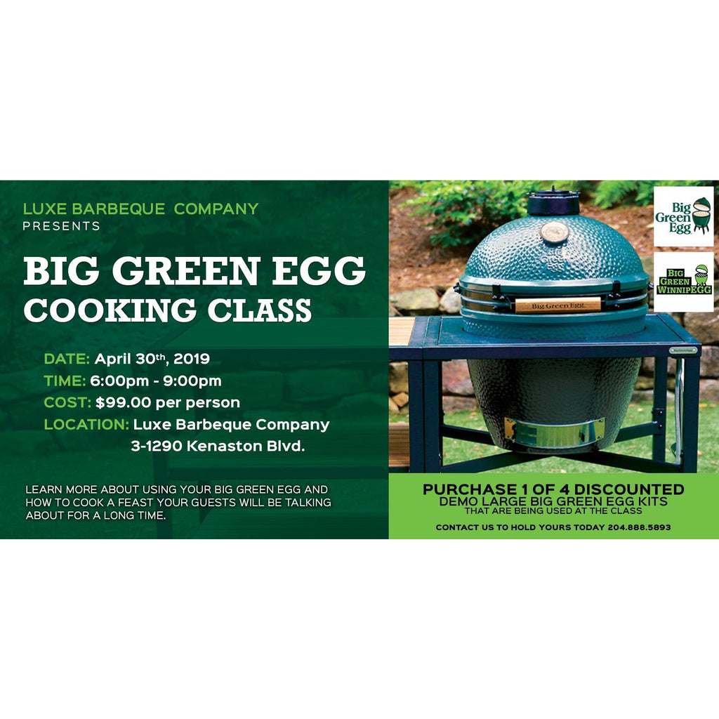 Big Green Egg Cooking Class