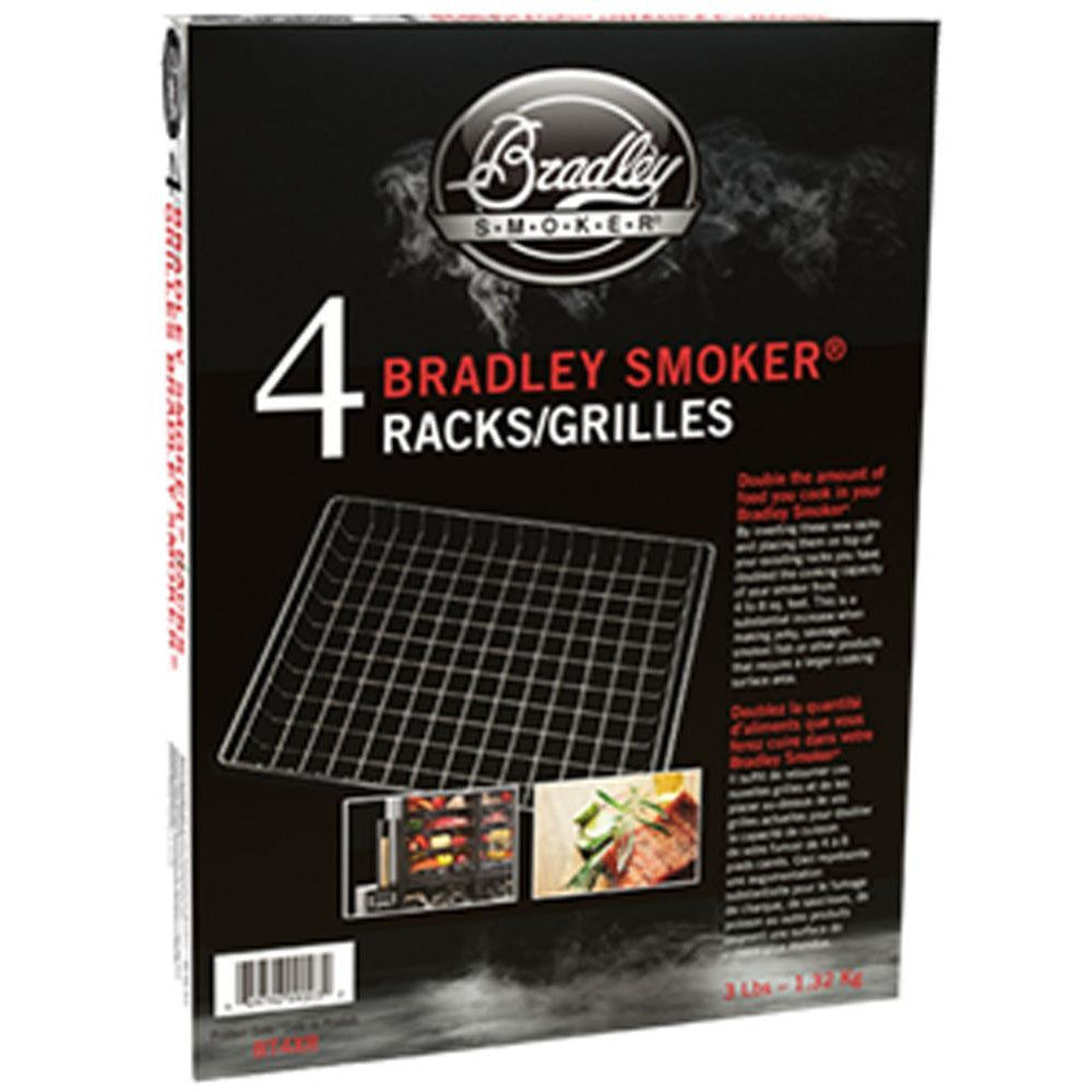 Bradley Smoker Extra Racks - 4 pack