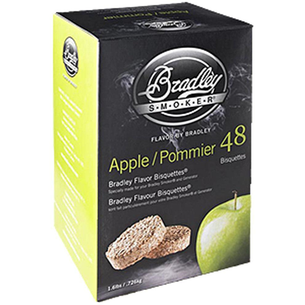 Bradley Apple Bisquettes 24Pk