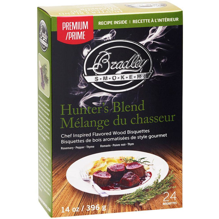 Bradley Hunters Blend Bisquettes 24Pk