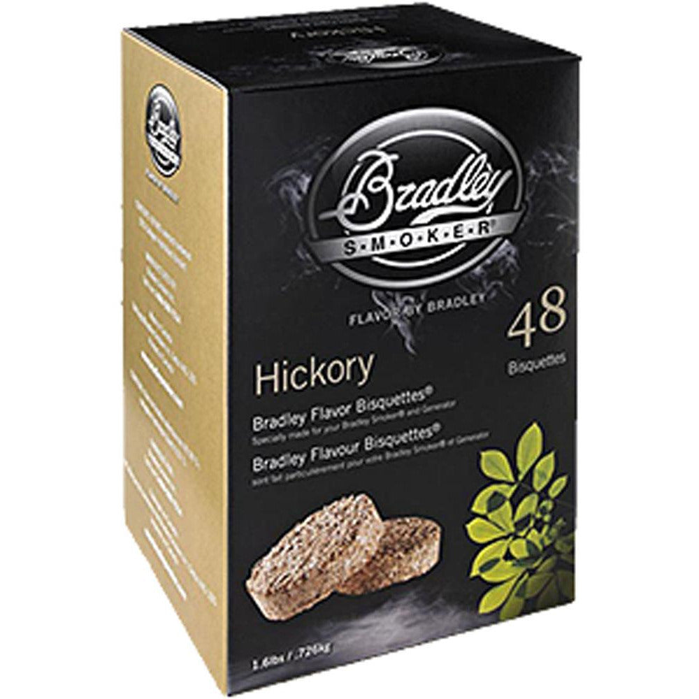 Bradley Hickory Bisquettes 24Pk
