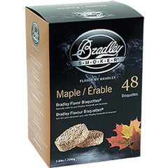 Bradley Maple Bisquettes 24Pk
