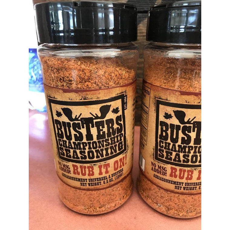 Busters Champion Seasoning