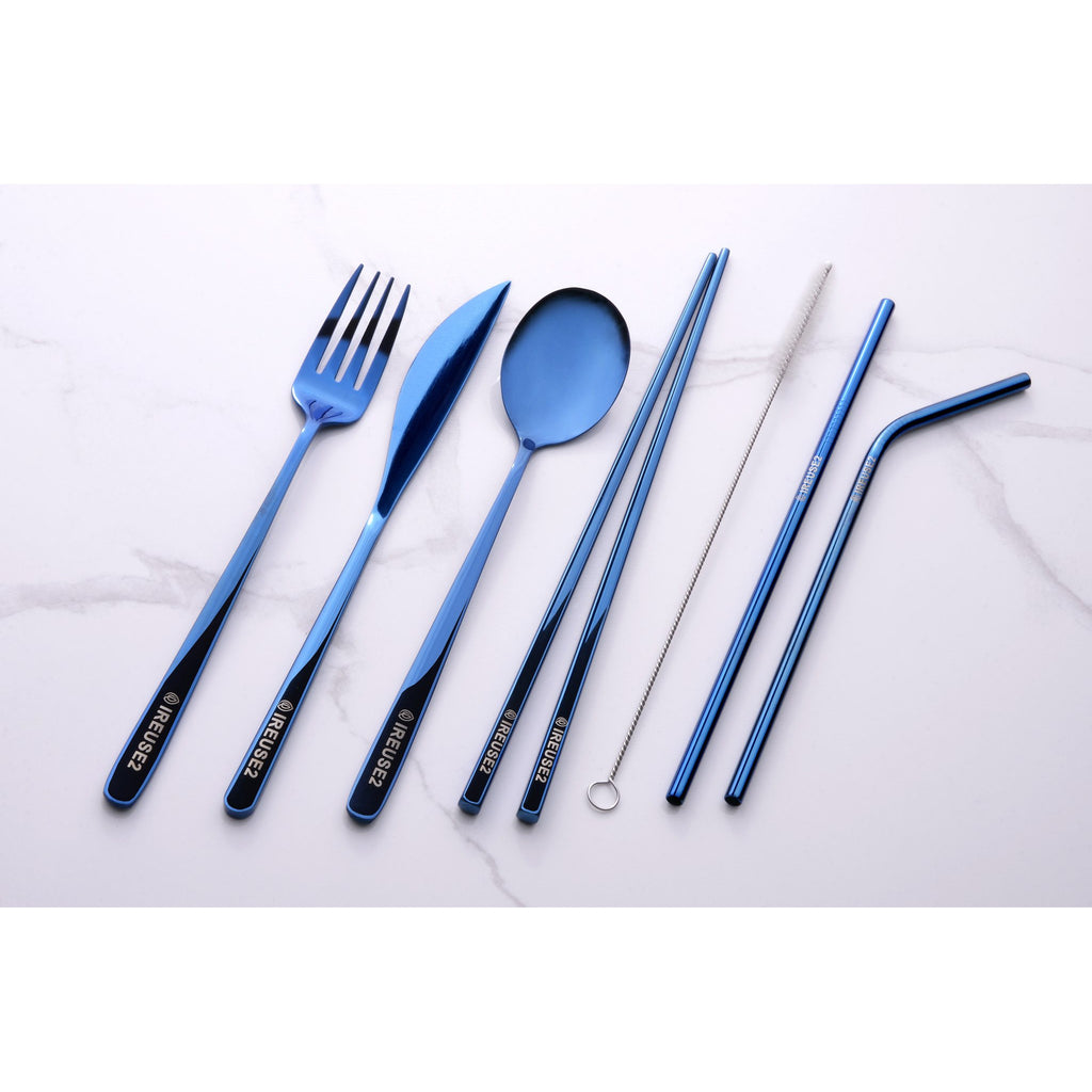 Ireuse2 Cutlery Set - Bespoke Blue - Limited Edition
