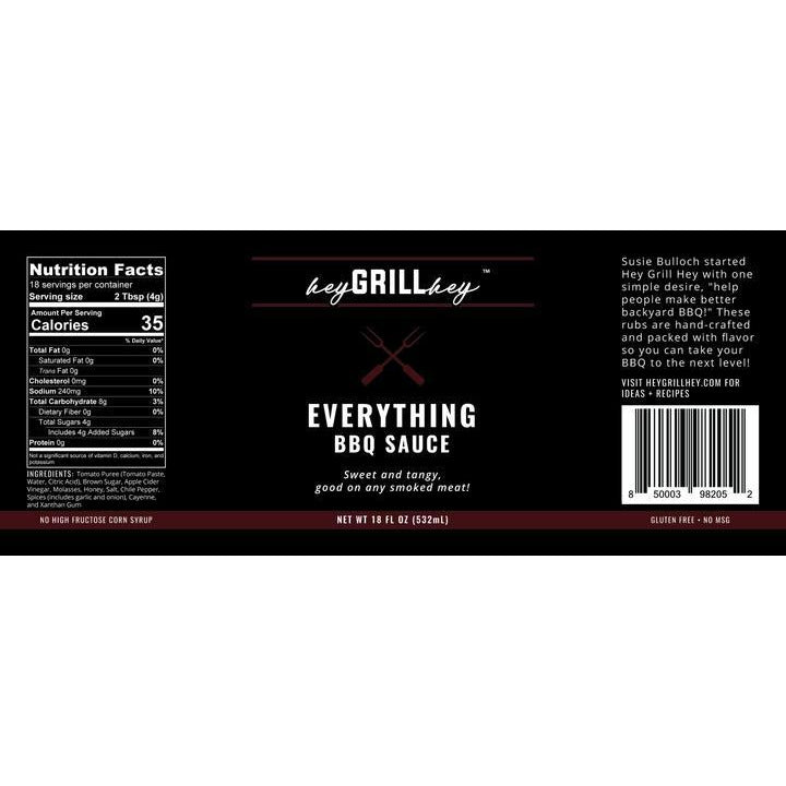 Hey Grill Hey - Everything Sauce