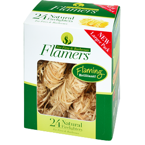 FLAMERS ™ All Natural Firelighters
