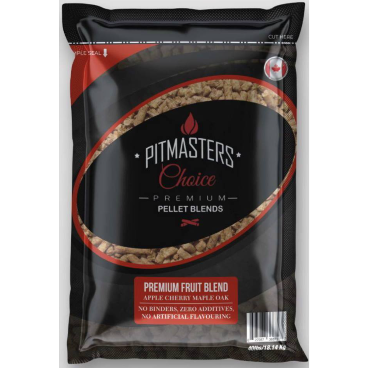Pitmasters Choice Premium Fruit Blend Pellets 40lbs Bag