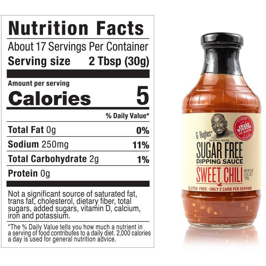 G Hughes Original Recipe Sugar Free - Sweet Chili Dipping Sauce