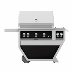 "Hestan Outdoor 36"" Deluxe Grill with Double Side Burner"