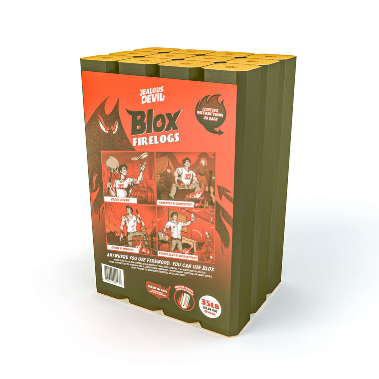 Jealous Devil Blox All-Natural Pizza Oven Log