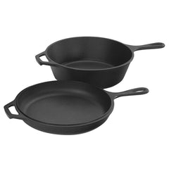 Lodge 3.2 Quart Cast Iron Combo Cooker