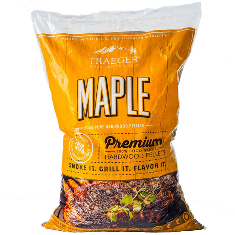 Traeger Maple Pellets 20Lbs