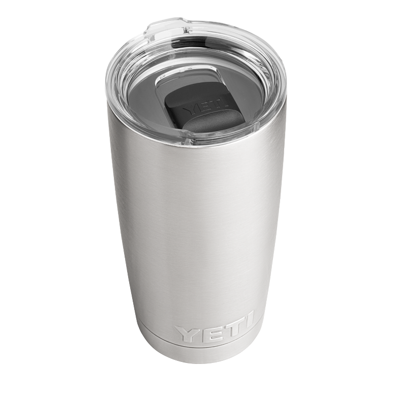 Yeti Rambler 591ml/ 20oz Tumbler with Magslider Lid - Stainless Steel