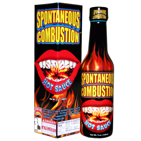 Spontaneous Combustion - Hot Sauce