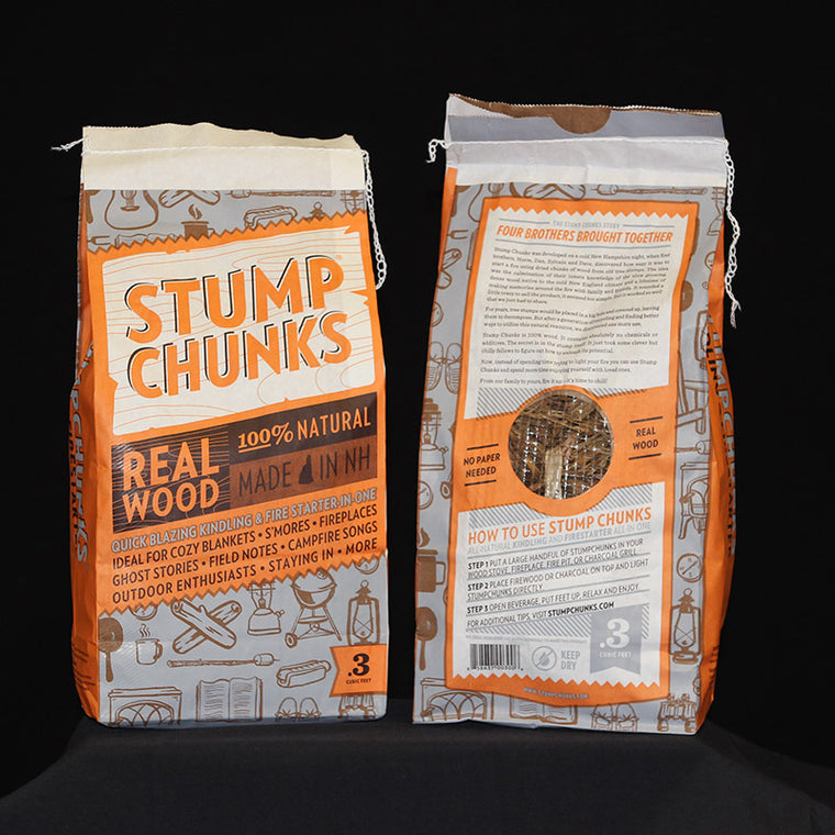 Stump Chunks Fire Starter Medium Bag