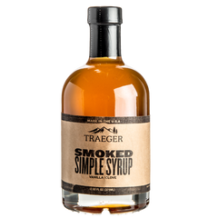 Traeger Syrup - Smoked Simple Syrup