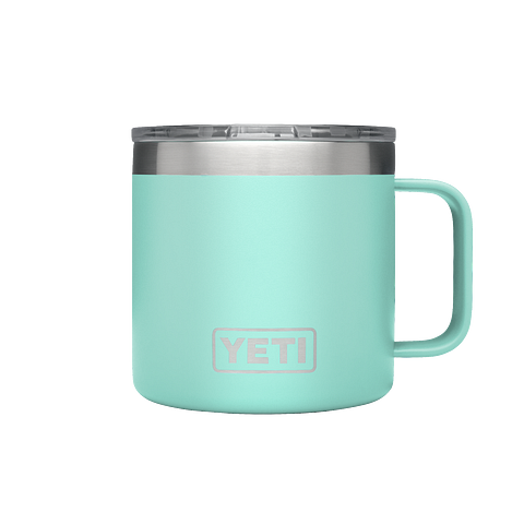 Yeti Rambler 14oz / 414ml Mug with Standard Lid - Seafoam