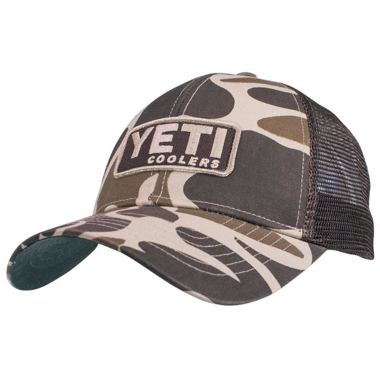 Yeti Camo Hat With Patch