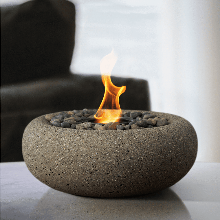 Terra Flame - Zen Fire Bowl Table Top - Sand