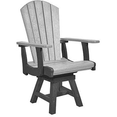 CRP Addy Swivel Dining Arm Chair