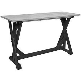 "CR Plastic products 72"" Harvest Bar Table"