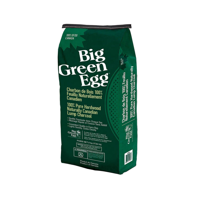 Big Green Egg 100% Natural Lump Charcoal - Canadian Maple 8KG