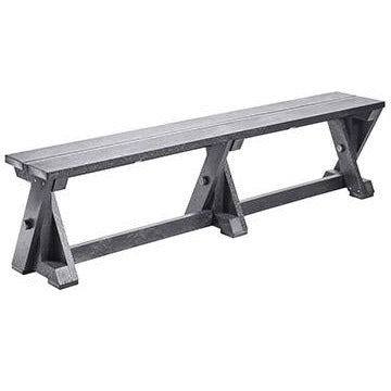 "CR Plastic products 72"" Bench"