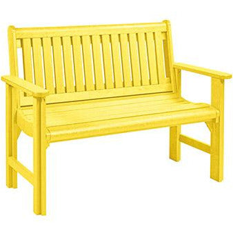 CR Plastic products 4' Garden Bench