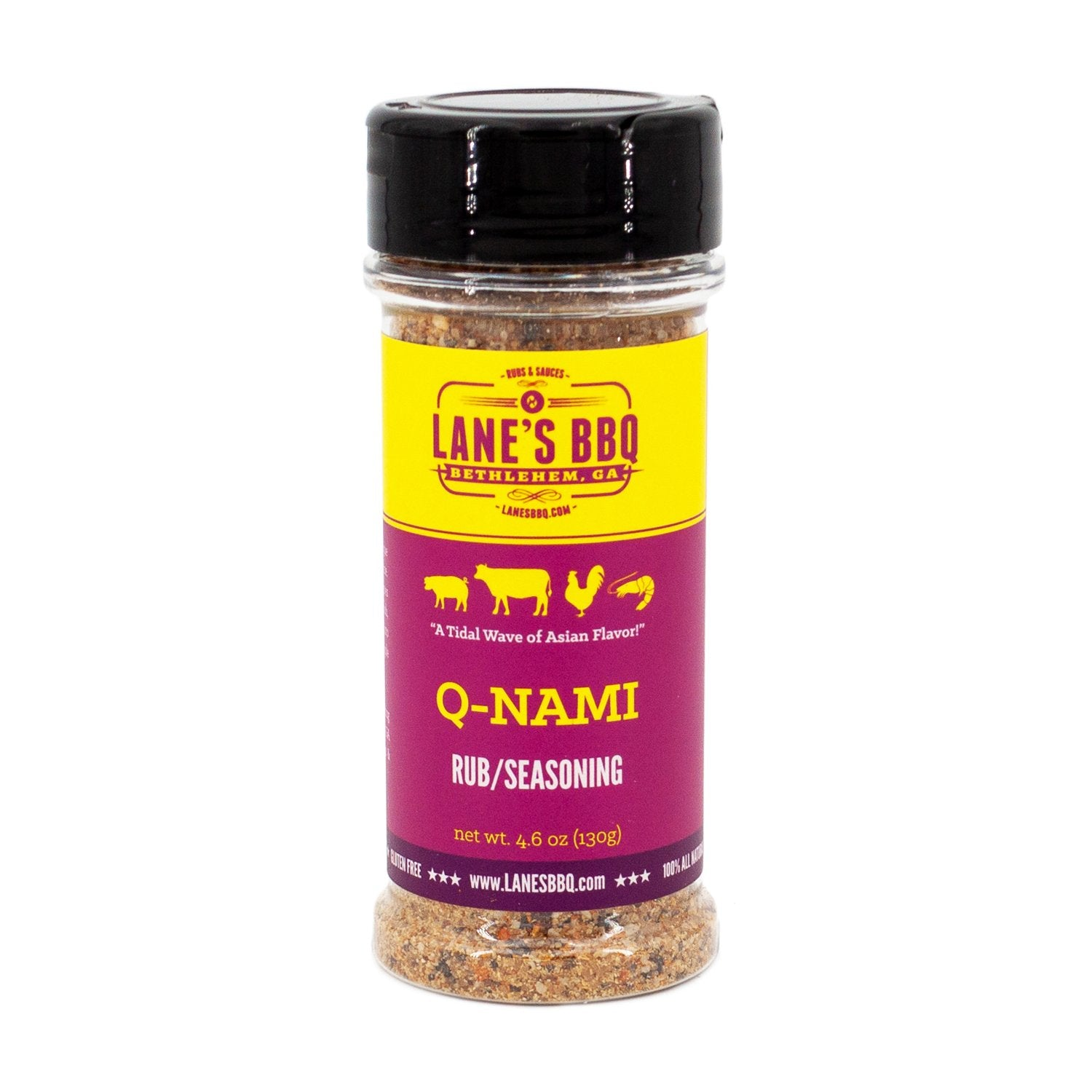 Lane's BBQ - Q-Nami Rub - 4.6oz