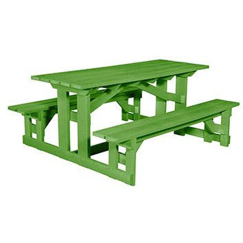 CR Plastic products Rectangular  Picnic Table
