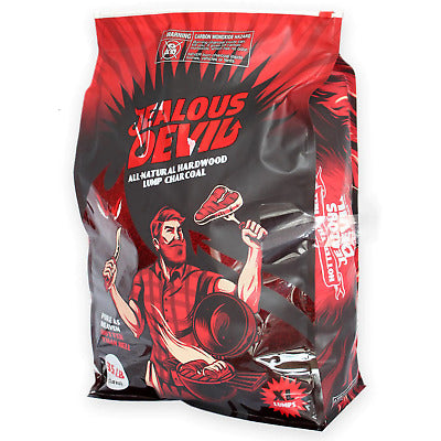 Jealous Devil - XL Lump Charcoal 35lbs - Plastic bag