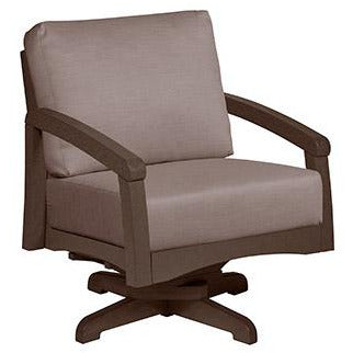 CRP Bay Swivel Chair with Cushions