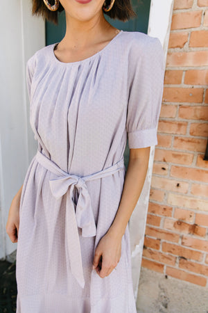 Lavender Dream Midi Dress